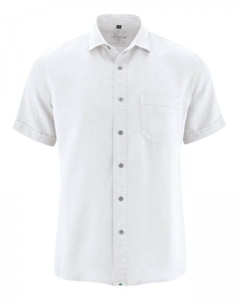 Legeres Herren Kurzarm Hemd von HempAge