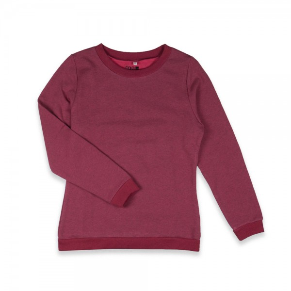 Degree Damen Pullover rot meliert