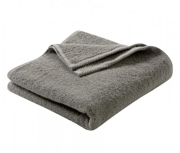Frottee Handtuch aus reiner Biobaumwolle - Farbe cashmere