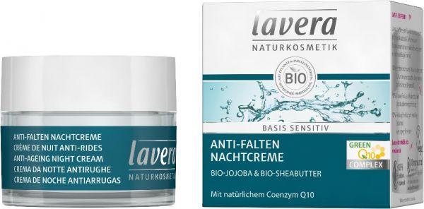 basis sensitiv Anti-Falten Nachtcreme Q10 - Bio Nachtcreme