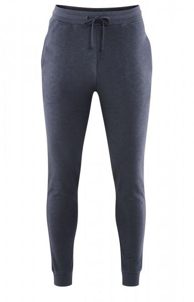 Herren Bio Homewear Hose - Relax und Freizeithose aus Biobaumwolle in dunkelblau