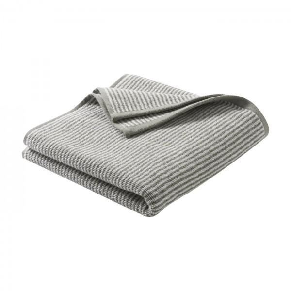 Living Crafts Frottee Handtuch aus reiner Bio-Baumwolle - Farbe cashmere-natural striped