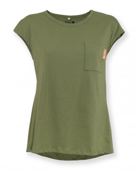Degree Damen Shirt olivegrün