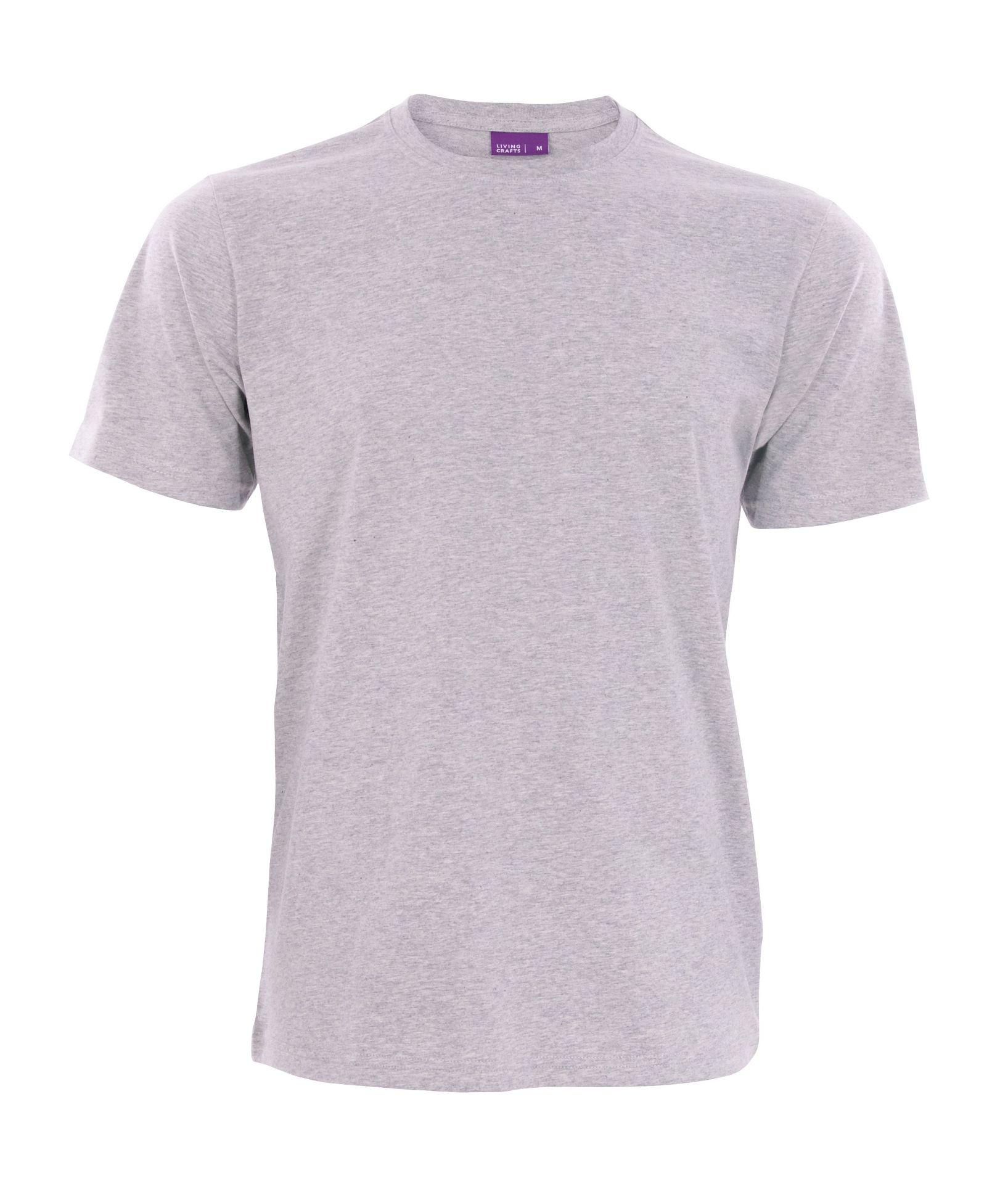 622915b62590b7 Vorschau  Bio T-Shirt mit Rundhalsausschnitt in grau ...