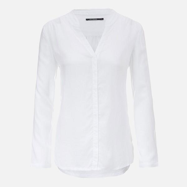 Weißes Damen Blusenshirt von GREENBOMB