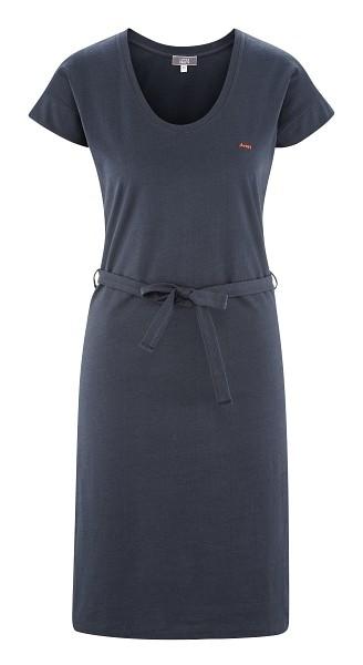 Bio Frühjahr/Sommer Jersey-Kleid mit abnehmbaren Gürtel