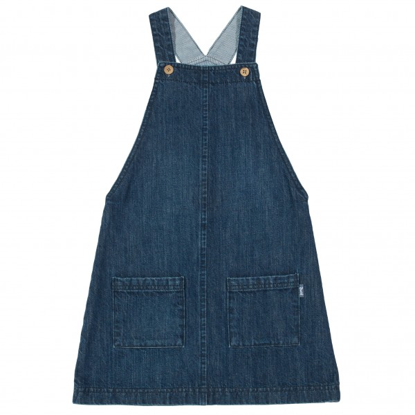 Mädchen Jeans Trägerkleid aus Bio-Baumwolle