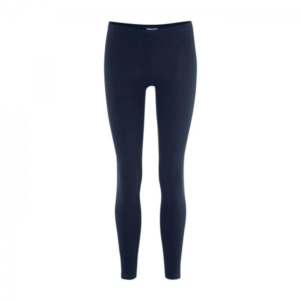 Leggings fair trade in blau