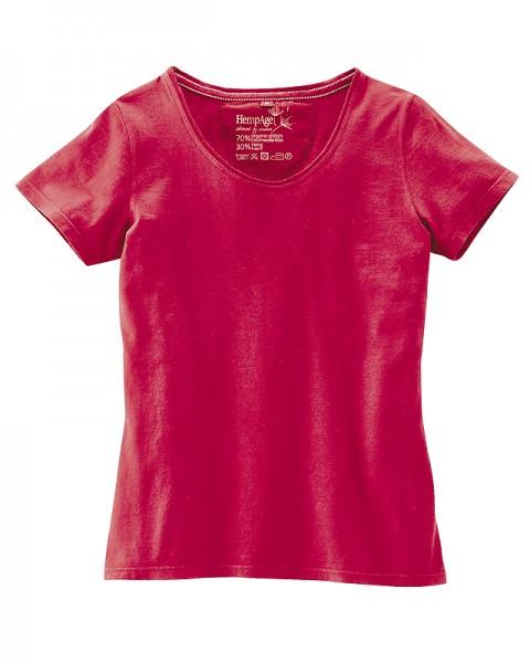 Basic Shirt mit Bio Baumwolle und Hanf