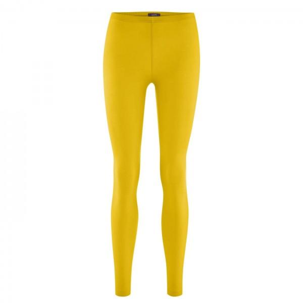 Bio Leggings in gelb