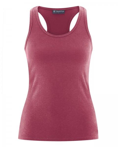 Ökologische Materialien für Dein Workout - Damen Tank Top Farbton Tinto