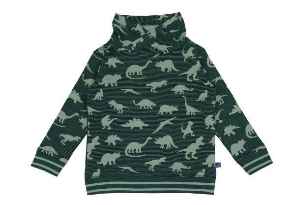Kinder Pullover Dinosaurier Bio Baumwolle