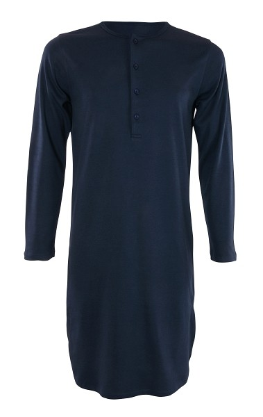 Retro Nachthemd unisex in grau oder blau