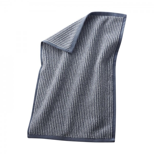 Gästehandtücher 30x50cm in feiner Frotteequalität infinity blue/natural