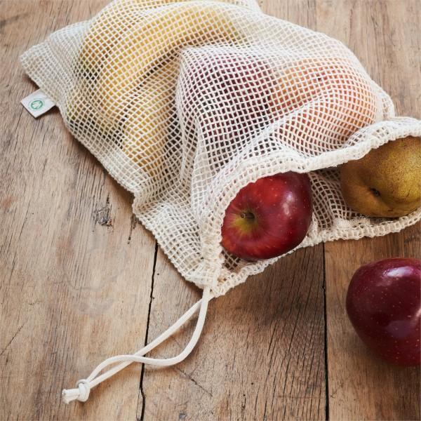 Obst und Gemüsenetz für den nachhaltigen Zero Waste Einkauf