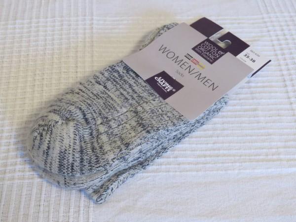 Damen Norwegersocken aus Bio Wolle und Bio Baumwolle