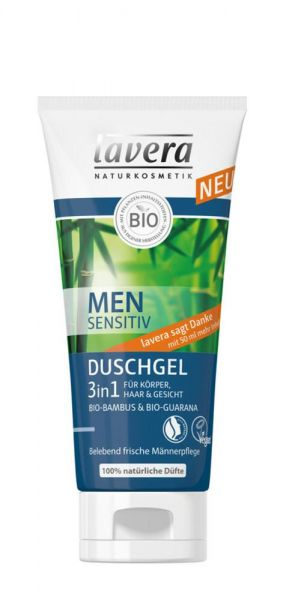 Lavera Men Sensitiv Duschgel 3 in 1 günstig online kaufen