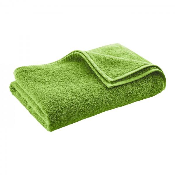 Badetuch / Duschtuch aus weichem Biofrottee 140x70 cm lime