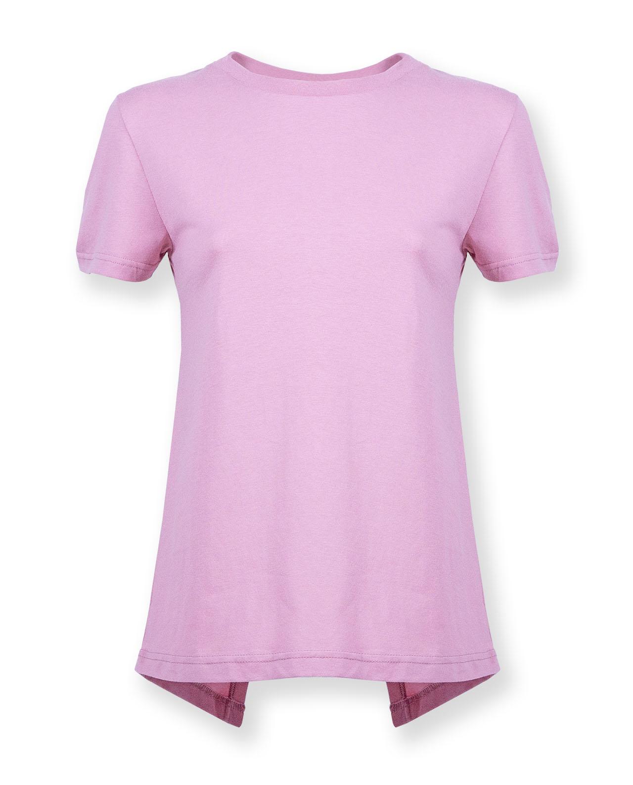 770ecf8712ab8a ... Vorschau  Damen Shirt mit Rückenschlitz Degree Clothing altrosa ...