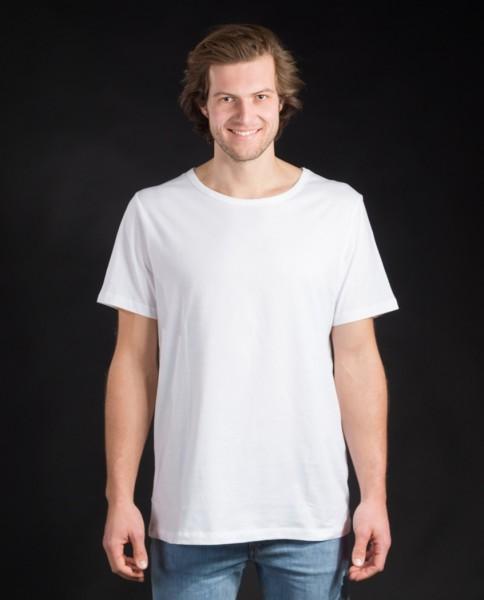Herren T-Shirt aus Bio Baumwolle in weiß