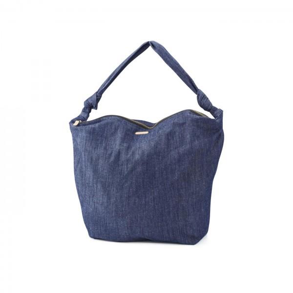 Living Crafts Handtasche aus Biobaumwolle - Denim